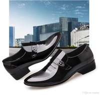 Handsome personality men' s shoes youth Korean fashion b...