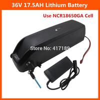 36V 17AH lithium-batterie 1000 Watt 36 V 17,5AH hailong Elektrische Fahrrad E-Roller Batterie Verwenden Sanyo GA zelle 42 V 2A Ladegerät 30A BMS