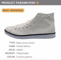 Sapatos vulcanizados masculinos personalizados Classic Alto Teen Boys Boys Sapatas de Lona 3d Fresco Crânio Imprimir Homens Lazer Sapatas de Borracha