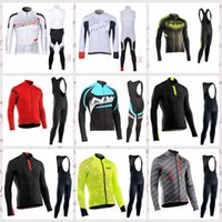 NW team Cycling long Sleeves jersey (bib) pants sets New arr...
