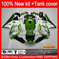 Тело для yamaha YZF600R Thundercat Metal Green 96 97 98 99 00 01 02 72HC.AA YZF-600R CC YZF 600R 1996 1997 1998 1999 2000 2000 2001 2002