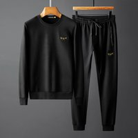 High Fashion Mens Designer Tracksuits Brand Bee with Crown S...