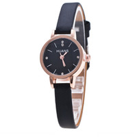 Minimalist Fashion Woman Fine Strap Watch Travel Souvenir Bi...
