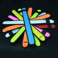 Nylon-LED Sport Slap-Armband Bands Armband-Licht-Blitz-Armband glühendes Armband Flare Bügel-Partei-Konzert-Armband LED blinkt Spielzeug