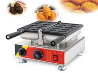 Livraison gratuite électrique 10 PCS / Mini plaque Taiaki Faire Faire bâton machine non revêtement gaufrier poisson