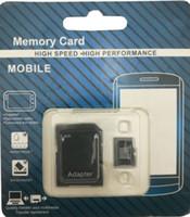 마이크로 sd 카드 32 기가 바이트 64 기가 바이트 128 기가 바이트 256 GB 클래스 10 TF 카드 메모리 카드 기프트 어댑터 소매 패키지 플래시 TF 카드