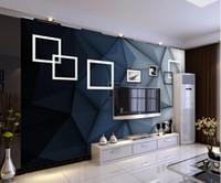 Простая стерео фото рамки искусство тв фоне стена фреска 3d обои 3d обои для телевизоров фона