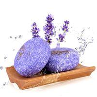 Jabón para el cabello hecho a mano Jabón de canela procesado en frío Barra de champú para cabello puro 100% Champú Herramienta de cuidado del cabello