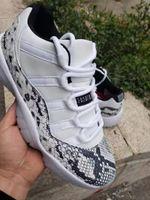 2019 Jumpman 11 Düşük SE Yılan Derisi 45 Concords 11 s Platin Tonu Basketbol Ayakkabıları Erkek Kadın Balo Gece Spor Kırmızı Bred Tasarımcı Spor Sneakers W