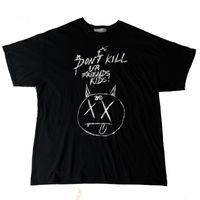 Sommermens Designer-T-Shirts Rache BAD Manuskript Doodle XXXTENTACION Fashion Marke Langarm Baumwollbeiläufiges