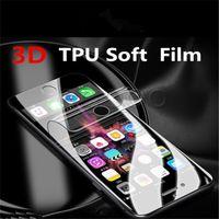 3D التغطية الكاملة لينة TPU فيلم الزجاج لسامسونج غالاكسي S10E S8 S9 S10 زائد S6 S7 حافة ملاحظة 8 9 حامي الشاشة فيلم السطح