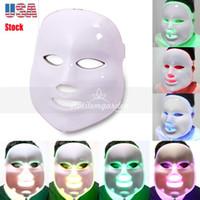 أفضل 7 ألوان الجمال العلاج الفوتون LED قناع الوجه العناية بالبشرة ضوء تجديد التجاعيد حب الشباب إزالة الوجه مكافحة الشيخوخة الجمال سبا صك