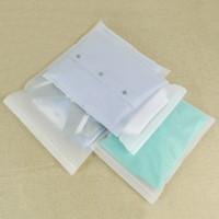 100 stücke große spezifikationen weich matt transparent transparent zip lock paket tasche matte klar mylar beutel