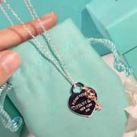 Fashion- S925 silver luxurious quality heart and key pendant...