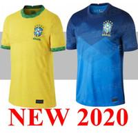 2020 Brasil Camiseta de Futbol Paqueta Neres Coutinho 브라질 축구 셔츠 Firmino 예수님 축구 유니폼 Marcelo 2021 Maillot de Foot