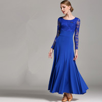 Bühnenverschleiß Stil National Standard Ballroom Dance Rock High-End Modern Kleid Performance Kostüme Walzer Anzug