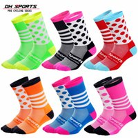 DH SPORTS Mountain Bike Cycling Socks Breathable Wear- resist...