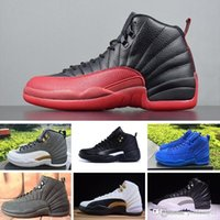 NIKE Air Jordan 12 Retro baloncesto para hombre 12s Winterized WNTR Gym Red Michigan Bordeaux 12 blanco negro The Master Flu Game zapatillas deportivas de tenis tamaño 7-1