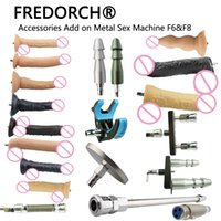 FREDORCH 23 Types Noiseless Premium Sex Machine F6 Attachmen...