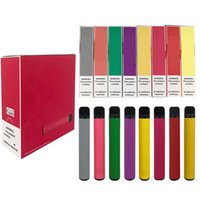 Most Popular PUFF BAR PLUS 800 Puffs Disposable Vape Pen 550...