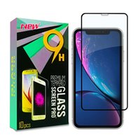 Apple phone Tempered Glass For iphone x xs max full Glue Gla...