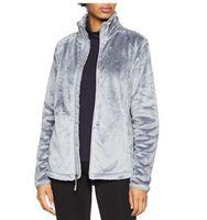 Paño grueso y suave Osito capas de las chaquetas marca de moda ocasional de las nuevas del Norte Invierno Primavera Mujer señoras de los hombres de los niños de esquí Plumónes cálidos S-XXL Negro Rosa