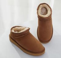 Neue Art und Weise der Qualitäts-Frauen Classic Short Slipper kniete Schwarz Grau Kastanie Marine-Blau-Frauen Stiefel Stiefel Stiefel Ankle