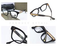 أزياء المرأة مان خمر العين شفافة نظارات واضح نظارات قصر النظر الشيخوخي وصفة طبية البصرية النظارات إطارات