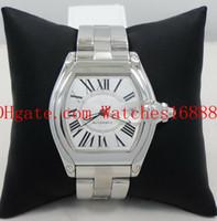 Livraison gratuite grande taille Bracelet en acier inoxydable Mens Mouvement mécanique automatique Montres W62025V3 Date d'homme Montre Montre
