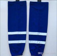 Nieuwe Ice Hockey Sokken Trainingssokken Blauwe Mannen Jeugd Kids Practice Socks Hockey Apparatuur