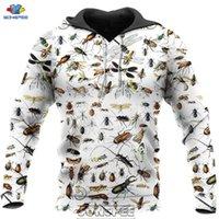 SONSPEE 2020 New Insects 3D Print Men's Hoodie Casual Fashion Men Women Autumn Funny Streetwear Coat Pullover Tops Sweatshirt