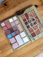 2018 Nueva 19 sombras Meet desnuda Materia de resaltado maquillaje sombra de ojos Blush cara Polvos paleta de envío