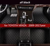 pour TOYOTA VENZA 2009-2017year tapis de sol non toxique antidérapante tapis de sol de voiture