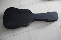 어쿠스틱 기타에 대한 하드 케이스 특별한 모양 블랙 하드 케이스, 색상 및 크기를 사용자 정의 할 수 있습니다