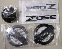 3D Silver Z Car Front Grille Body Side Rear Emblem Stickers ...