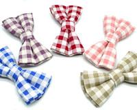 infantil Meninos Stripe laço Borboleta Crianças Bowtie Moda Casual Vestuário Acessórios
