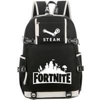 حصن ظهره العالمية Daypack حقيبة لعبة شعبية البخار المدرسية أوقات الفراغ حقيبة الرياضة حقيبة مدرسية حزمة اليوم في الهواء الطلق