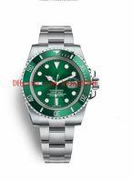 6 couleurs Best-seller montres-bracelets 40mm 116613 116610 116619 114060 116618 Acier inoxydable Asie 2813 mouvement montres automatique