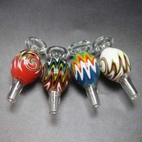 New Colored Glass Banger Bubble Carb Cap for Terp Pearl ball...