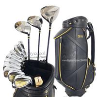Nouveaux clubs de golf pour hommes GIII Compelete ensemble de clubs Golf Driver fers à bois Putter Graphite ou Steel Golf shaft and bag Livraison gratuite