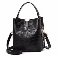 핑크 스기노 디자이너 가방 여성 크로스 바디 가방 토트 백 PU 가죽 핸드백 클러치 지갑 2020 새로운 스타일 고품질 패션 지갑 악어