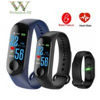 1 PCS Fitness M3 Smart Band Bracelet Heart Rate Watch Activi...