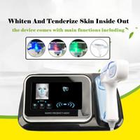 Neuankömmling !!! Wasser Mesotherapie Pistole Radiofrequenz RF Meso Gesichtshaut Schönheitsgerät Injecto CE DHL