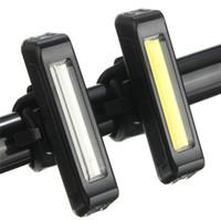 Fahrradbeleuchtung USB-LEDs Licht Super Helle Taschenlampe Wiederaufladbare Lithiumpolymerakku 100 Lumen Ladegerät