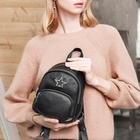 2019 Women genuine leather Backpacks bags for women