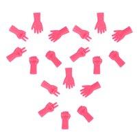 18PCS 뜨개질 스토퍼, 스티치 스토퍼, 레이스 보호자, 바늘 포인트 프로텍터의 경우 편직 공예