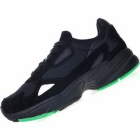 2019 hot adidas falcon fashion designer women's shoes new color matching vintage dad shoes men's casual shoes