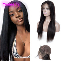 Brazilian Virgin Hair 13X4 Lace Front Wigs Silky Straight Re...