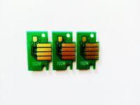 60 pezzi / lotto, PFI-102 chip per cartuccia d'inchiostro Canon PFI102 IPF510 IPF610 IPF700 IPF720 cartuccia d'inchiostro per stampante a getto d'inchiostro