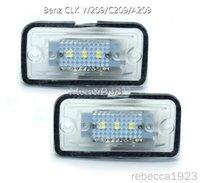 قاد السيارة لوحة ترخيص مصابيح بنز CLK W209 / رقم C209 / A209LED مصنع الأسعار أدى لوحة ضوء 12V 6000K